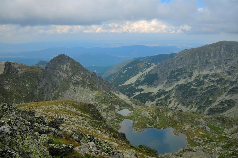 елениното езеро от високо