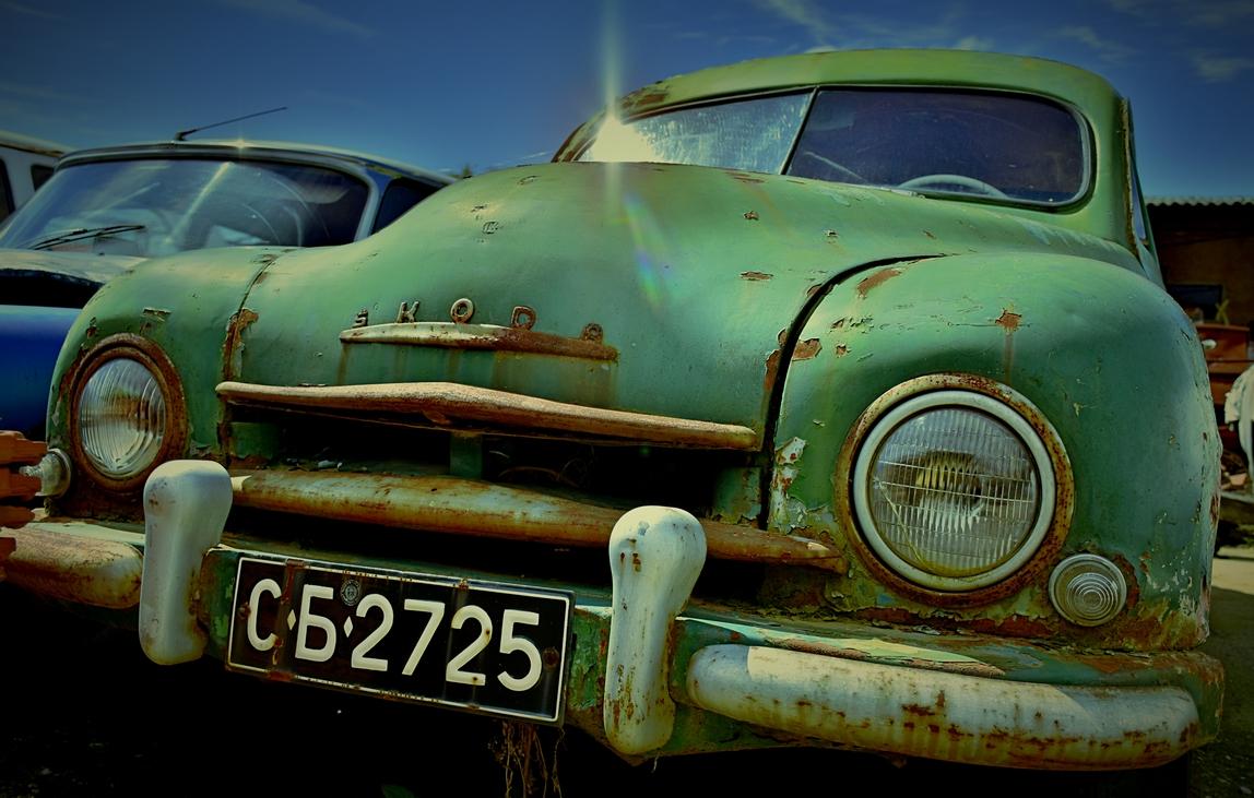 Skoda 1201 Sedan 1957