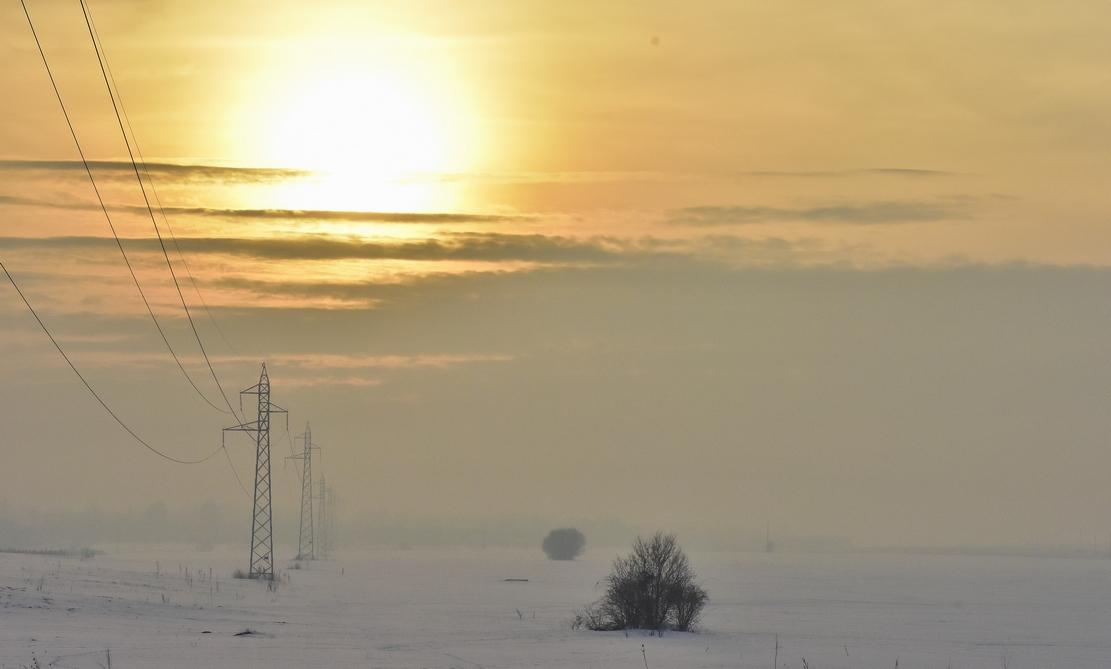 зима край Банкя