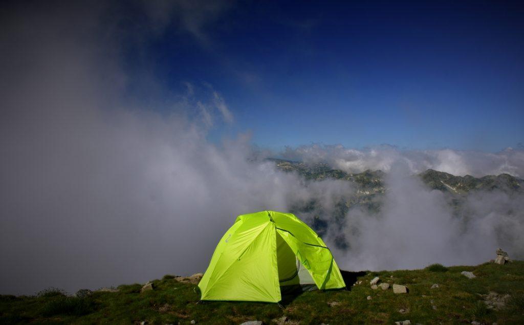 палатка на Мусала