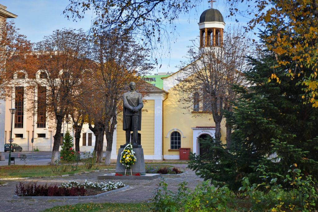 Паметник Раковски във военната академия