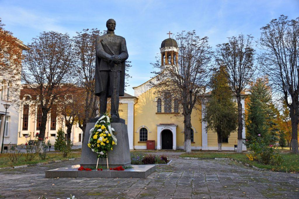 паметник Раковски военна академия