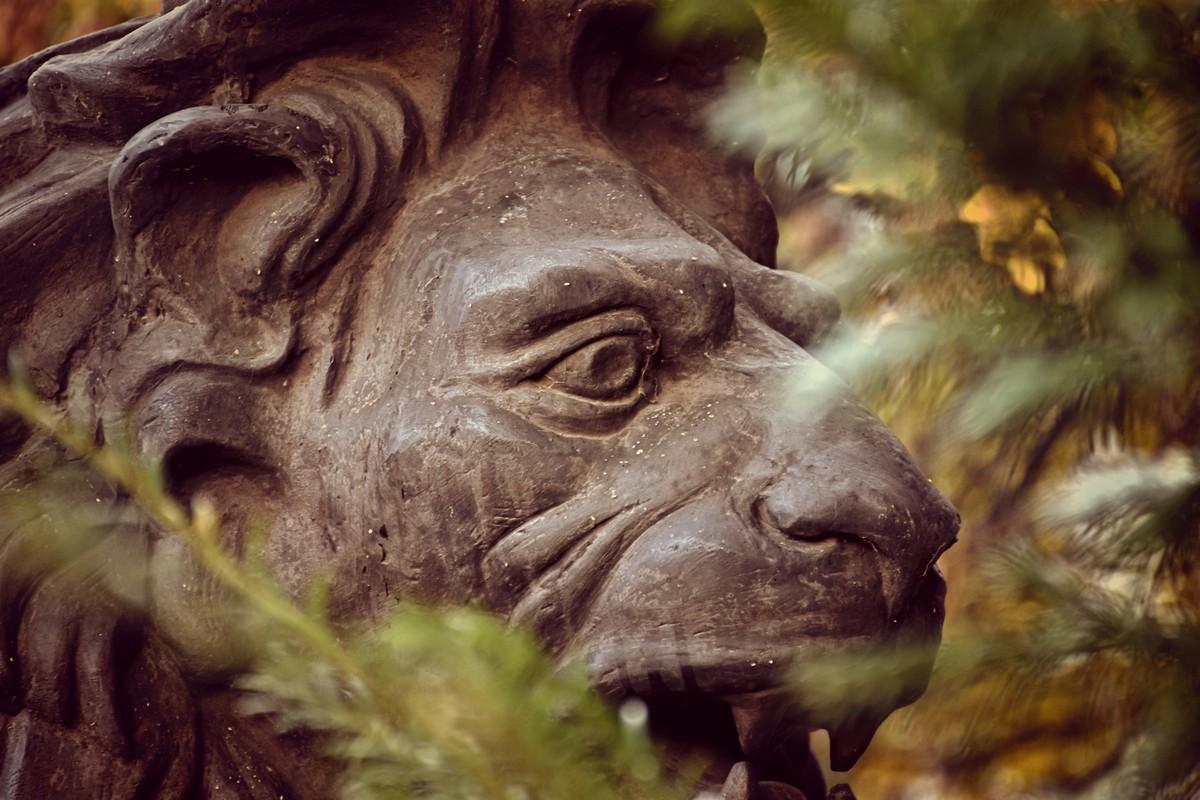 паметник лъв, Военна академия Георги Раковски
