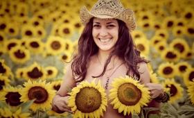 Слънчогледи и слънчеви модели
