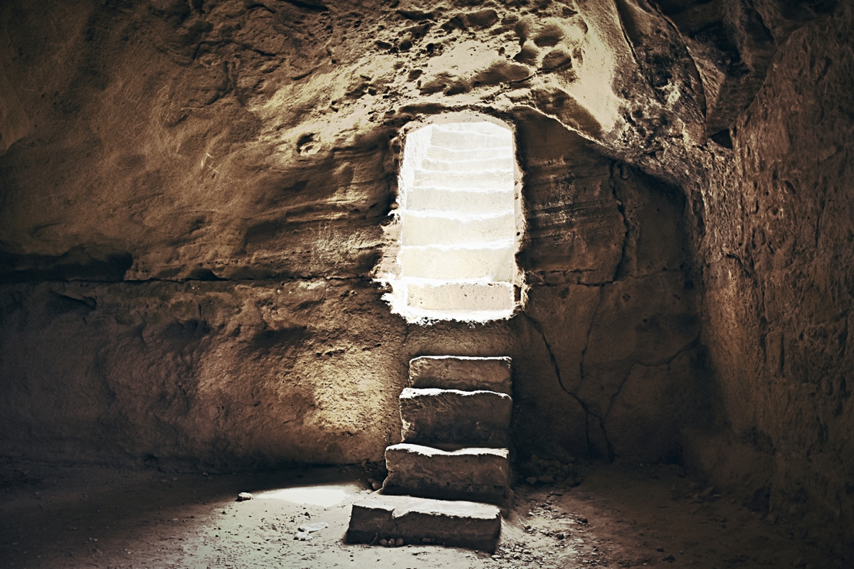 стълба към светлината